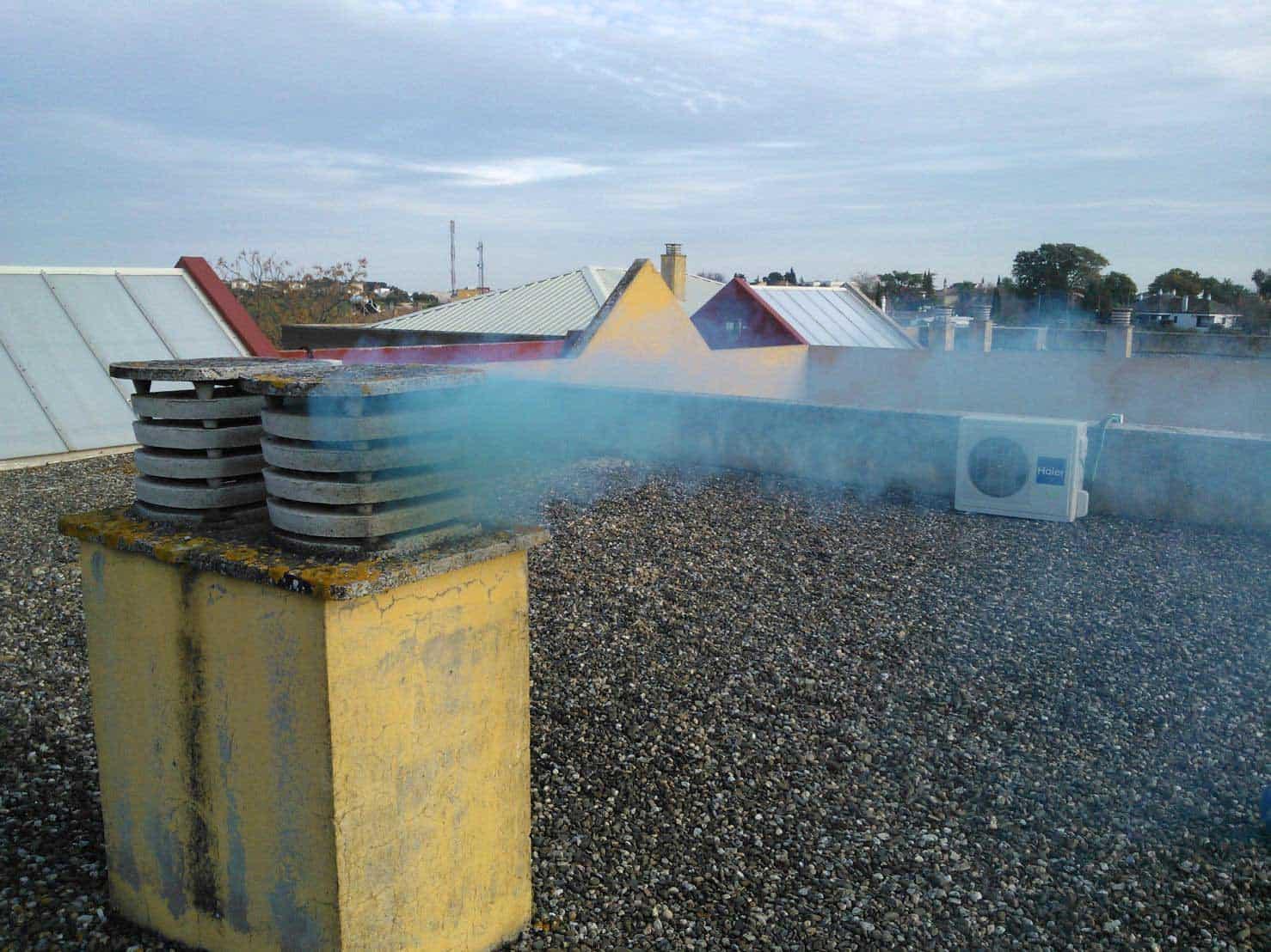 Transmisión de olores en viviendas